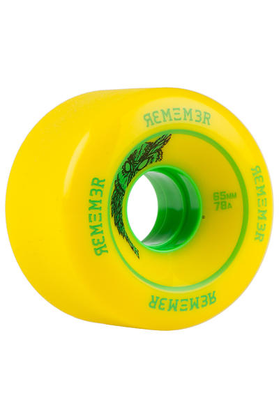 Remember Lil Hoot 65mm 78A Wheel (yellow) 4 Pack
