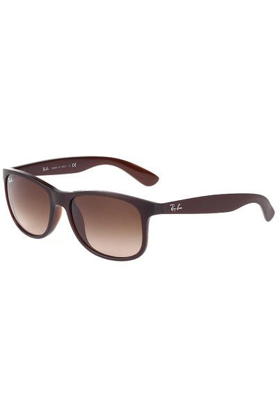 Ray-Ban Andy Sonnenbrille 55mm (matte brown)