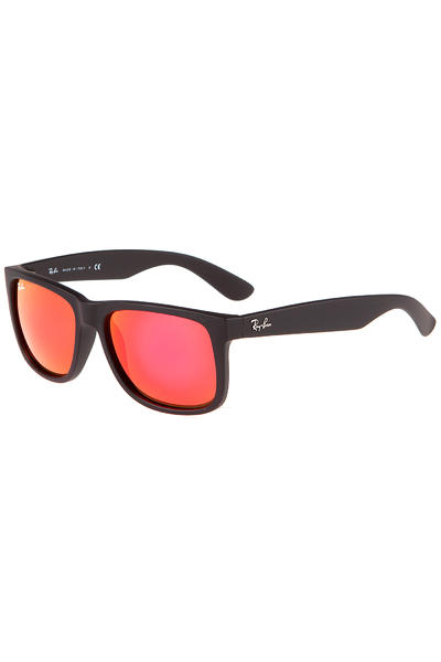 Ray-Ban Justin Sonnenbrille 55mm (rubber black orange)