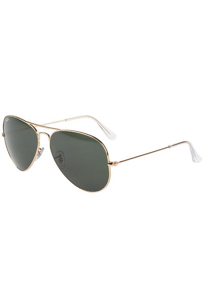 Ray-Ban Aviator Large Metal Sunglasses 62mm (gold)
