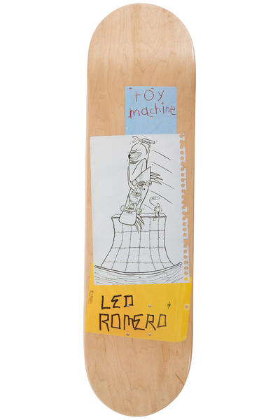 "Toy Machine Romero Scraps 8.125"" Deck (natural)"