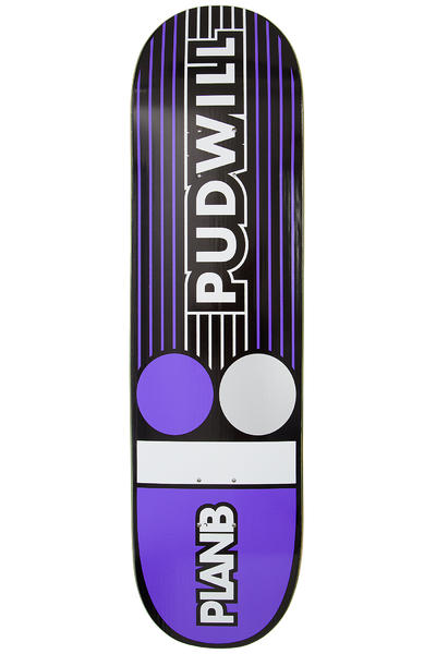 "Plan B Pudwill Lines 8.25"" Deck (purple)"
