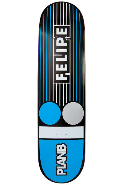 "Plan B Felipe Lines 8.125"" Deck (blue)"