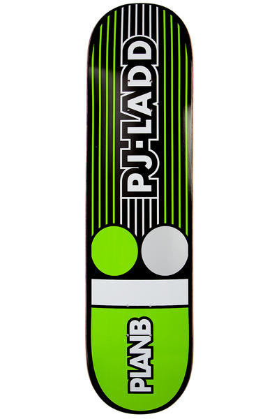 "Plan B Ladd Lines 7.75"" Deck (green)"