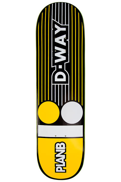 "Plan B Way Lines 8.25"" Deck (yellow)"