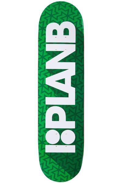 "Plan B Team Shadow 7.875"" Deck (green)"