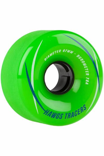 Hawgs Tracer 67mm 78A Roue (green) 4 Pack