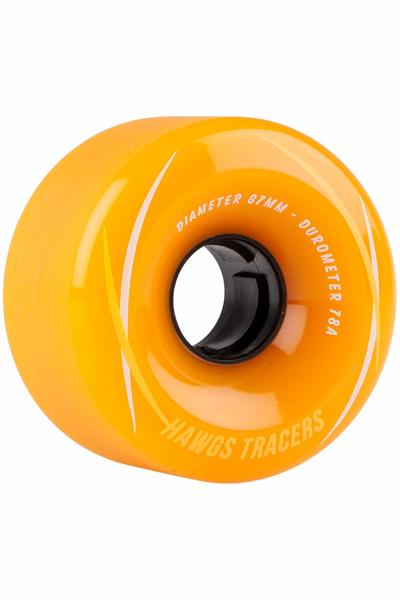 Hawgs Tracer 67mm 78A Roue (orange) 4 Pack