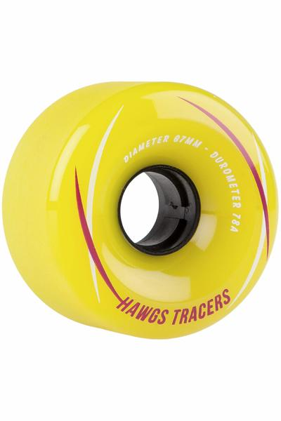 Hawgs Tracer 67mm 78A Roue (yellow) 4 Pack