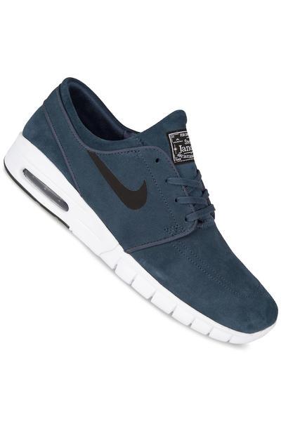 Nike SB Stefan Janoski Max Suede Schuh (squadron blue black)