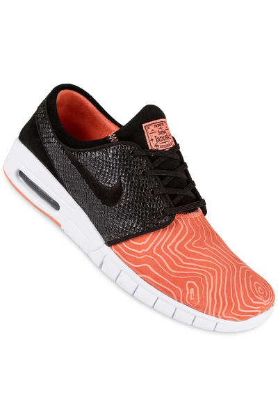 Nike SB Stefan Janoski Max Suede Schuh (atomic pink black)