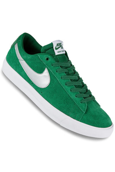 Nike SB Blazer Low Grant Taylor Schuh (pine green metallic silver)