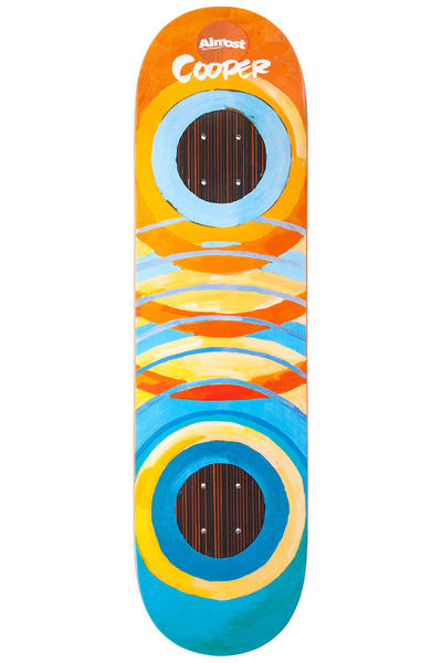 "Almost Cooper Lotti Painted Rings Impact Support 8.25"" Deck (multi)"