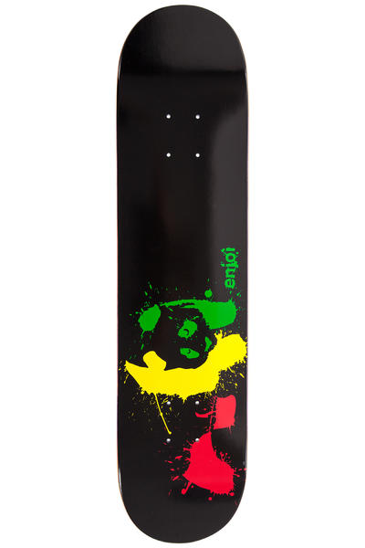 "Enjoi Panda Splatter 7.5"" Deck (black)"