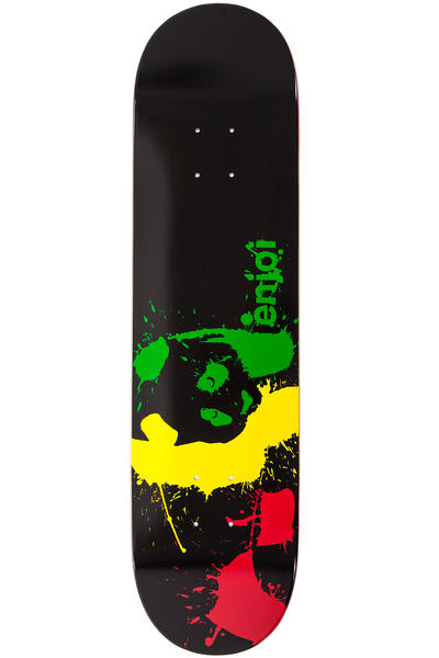 "Enjoi Panda Splatter 8"" Deck (black)"