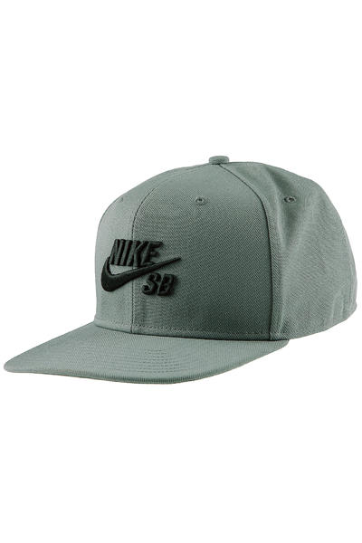 Nike SB Icon Snapback Cap (tumbled grey)