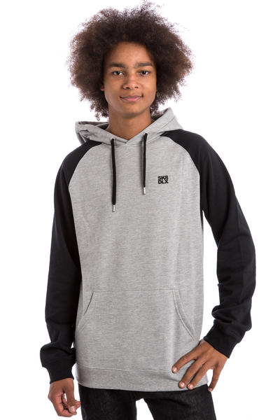 SK8DLX Easy Raglan Sudadera (black heather grey)