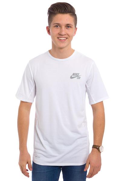 Nike SB Skyline Dri-FIT Cool T-Shirt (white reflective silver)