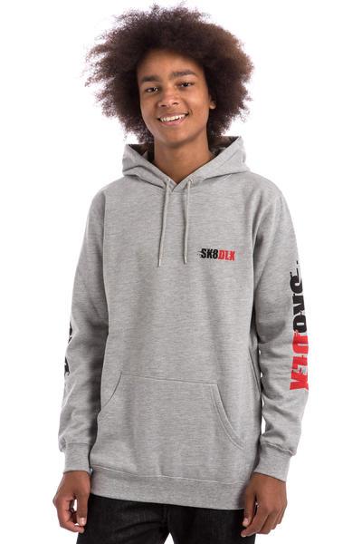 SK8DLX Racer Hoodie (heather grey)