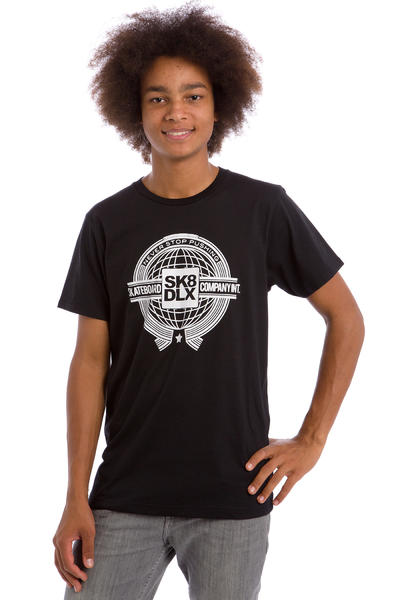 SK8DLX World T-Shirt (black)