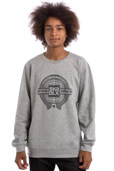 SK8DLX World Sweatshirt (heather grey)