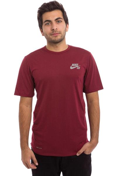 Nike SB Skyline Dri-FIT Cool T-Shirt (team red reflective silver)