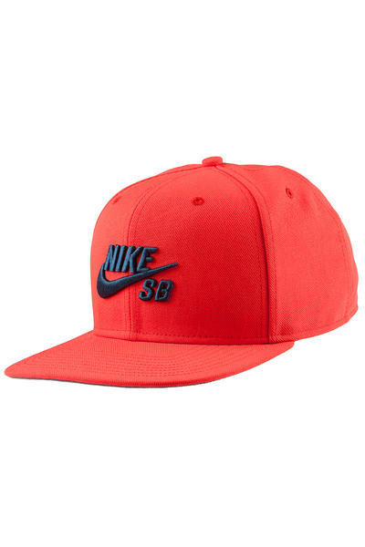Nike SB Icon Snapback Cap (light crimson)
