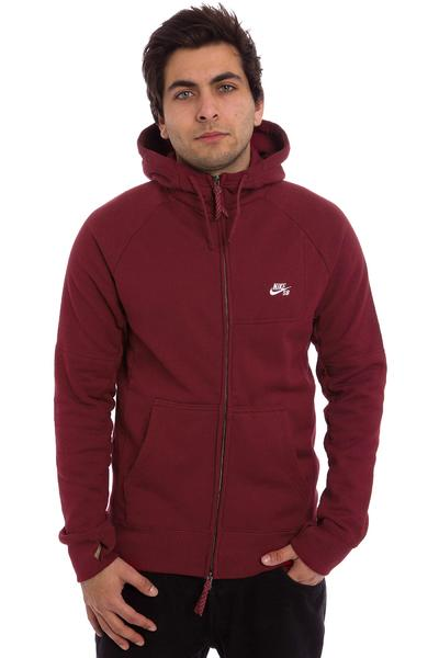 Nike SB Everett Graphic Zip-Hoodie (team red)