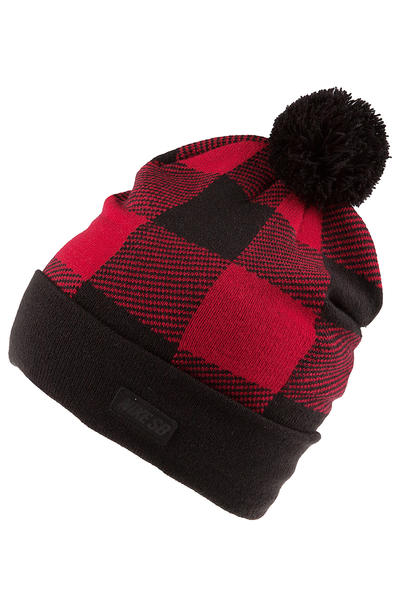Nike SB Buffalo Plaid Beanie (gym red black)