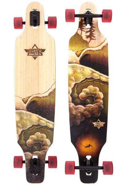 "Dusters Deep 42"" (106,5cm) Complete-Longboard (bamboo)"