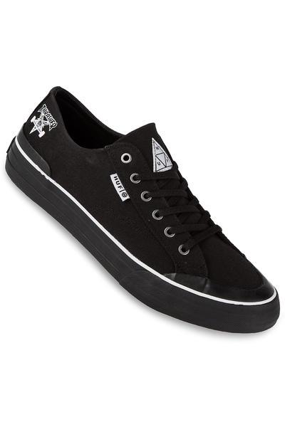 HUF x Thrasher Classic Lo Canvas Schuh (black)