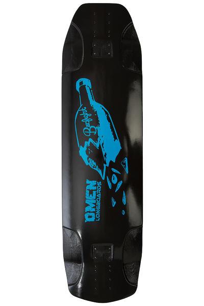 """Omen Barfight 34.5"""" (87,6cm) Planche Longboard (black blue)"""