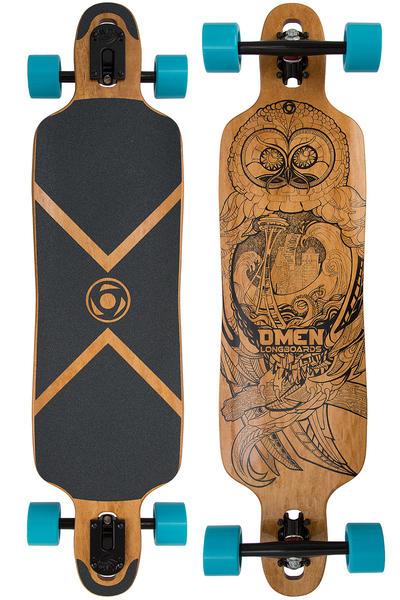 """Omen Drop Trough 38"""" (96,5cm) Komplett-Longboard (sea hoot)"""