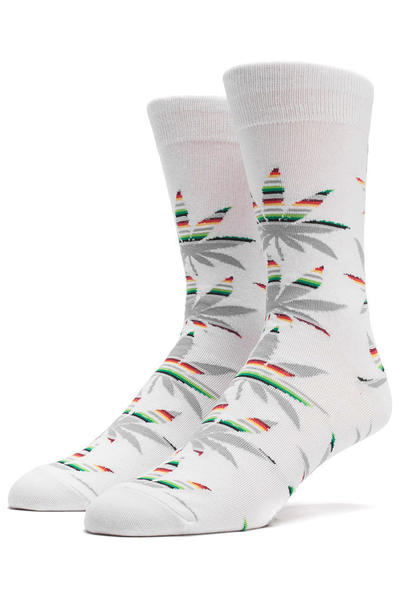 HUF Serape Socks US 8-12 (grey plantlife)