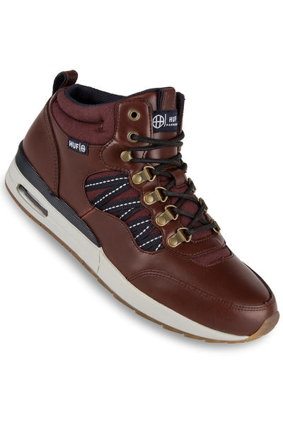HUF HR-1 Schuh (dark brown dark navy)