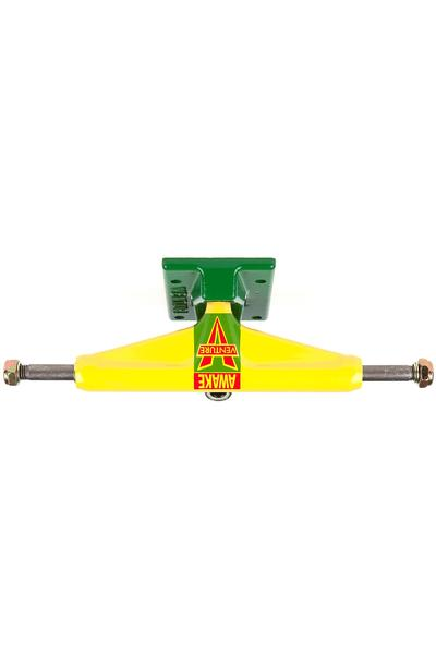 "Venture Trucks Color OG Awake Low 5.25"" Truck (yellow green)"