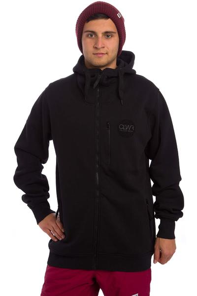 Colour Wear Amphi Snow Zip-Hoodie (black)