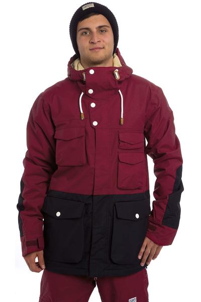 Colour Wear Shelter Snowboard Jacket (burgundy)