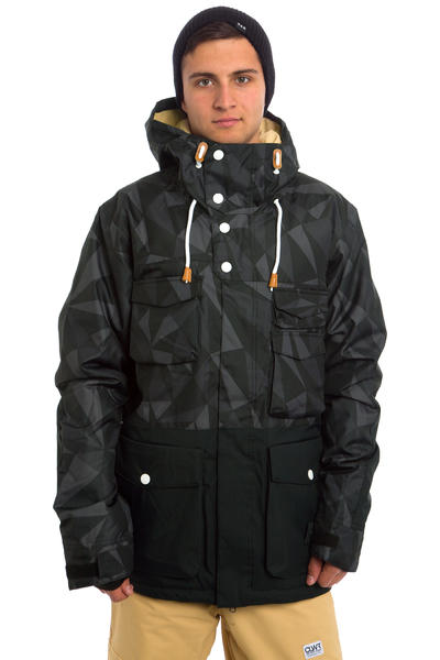 Colour Wear Shelter Snowboard Jacket (black ceramic)