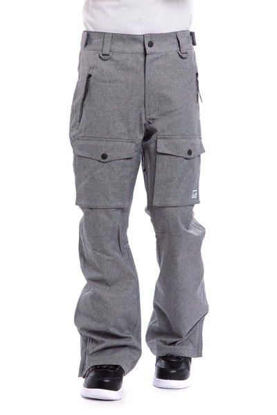 Colour Wear Flight Snowboard Pant (grey melange)