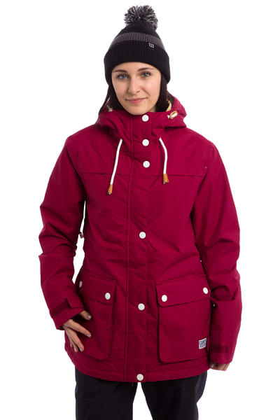Colour Wear Ida Snowboard Jacke women (burgundy)