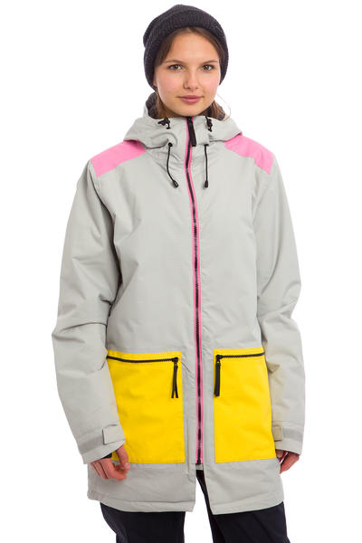 Colour Wear Isy Snowboard Jacket women (cement)