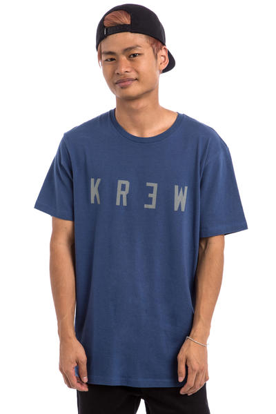 KR3W Locker Camiseta (indigo)