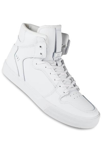 Supra Vaider Leather Shoe (white white red)