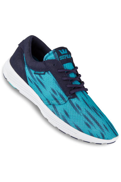 Supra Hammer Run Schuh (neon blue navy white)