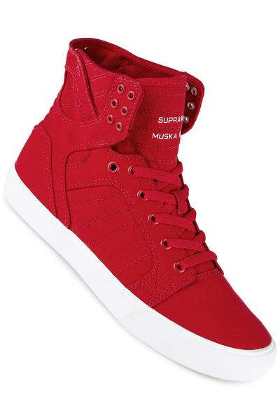 Supra Skytop D Canvas Shoe (red white)