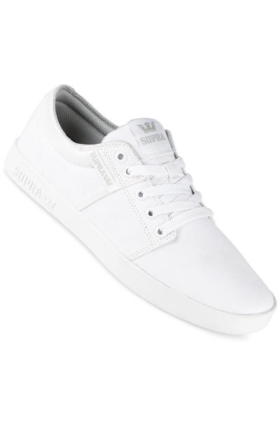 Supra Stacks Vulc II Shoe (off white white)