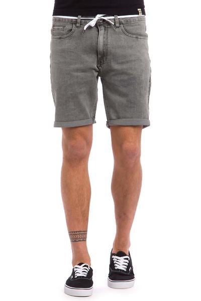Iriedaily ID Slim Shot 2 Shorts (grey bleach washed)