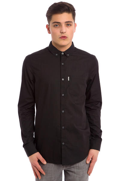 Iriedaily City Hemd (uni black)