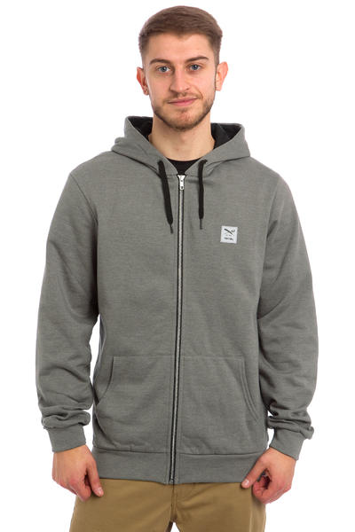 Iriedaily Color Flag Zip-Hoodie (charcoal melange)